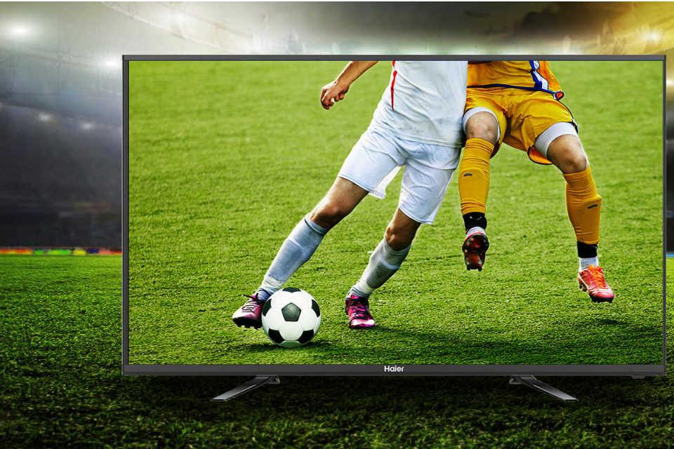 Sensasi menonton pertandingan dengan TV LED