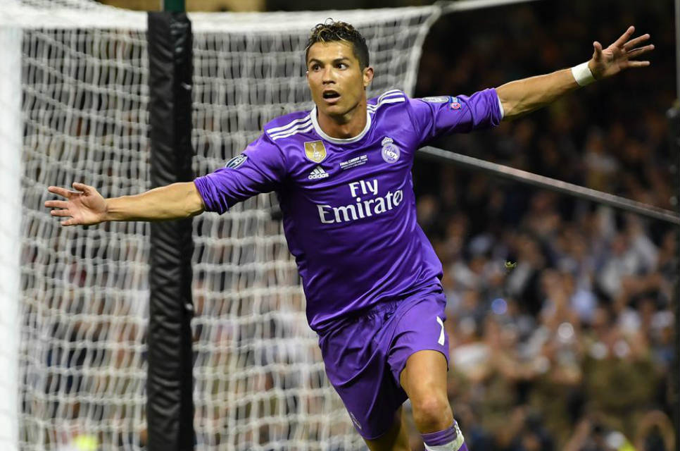 Ronaldo kembali cetak rekor di Liga Champions